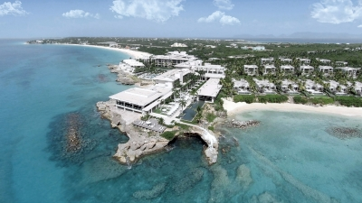 Four Seasons Resort and Residences Anguilla Aerial View