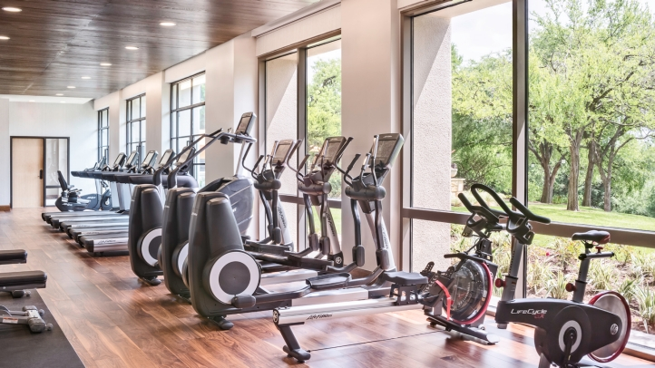 Hotel Gym in Austin at Four Seasons