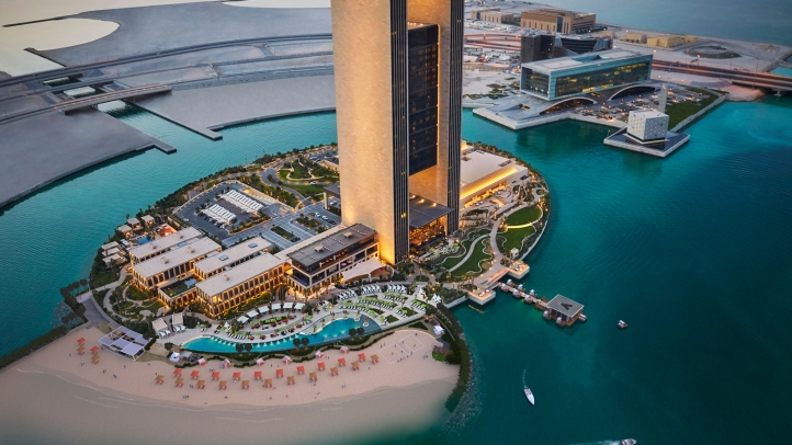 New Beach At Four Seasons Hotel Bahrain Bay Promises A Complete Island Resort Experience
