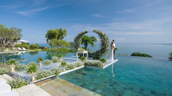 Wedding In Bali | Say I Do On Bali S Longest Overwater Wedding Aisle At Four Seasons