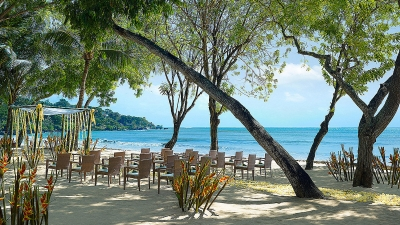 Beach Wedding Venue In Four Seasons Resort Bali At Jimbaran Bay