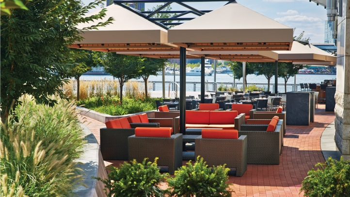 Wit On The Water At Four Seasons Hotel Baltimore To Host Annual - Four seasons patio
