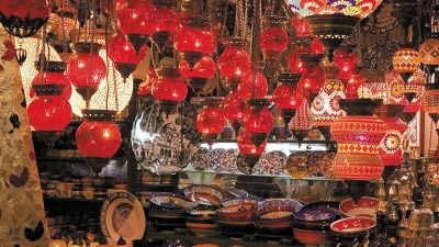 Shopping markets in Istanbul