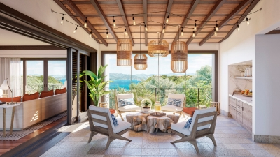 Lounge with a View at Four Seasons Costa Rica