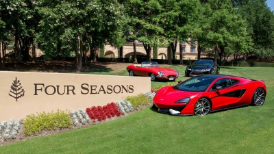 Dallas Resort Hosts Luxury Supercar Showcase At Four Seasons - Dallas car show