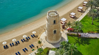Private Beach Hotel In Doha At Four Seasons