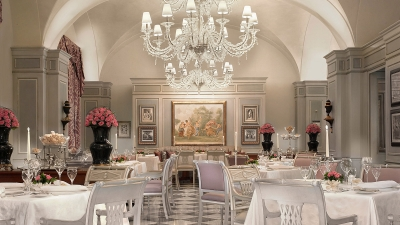 Michelin-Starred Il Palagio Restaurant at Four Seasons Hotel Firenze