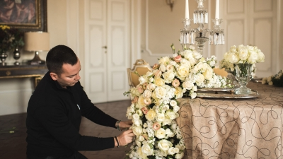 Floral Arrangements at Four Seasons Hotel Firenze