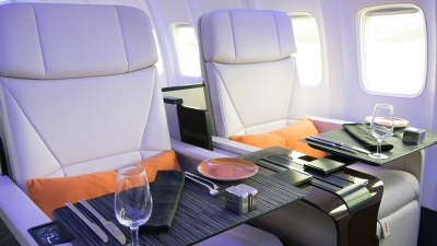 Four Seasons dining - in the air