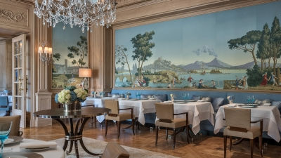 Michelin-Starred Il Lago Restaurant at Four Seasons Hotel des Bergues Geneva