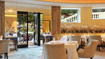 Michelin-Starred Le Cap Restaurant at Grand-Hôtel du Cap-Ferrat, Four Seasons