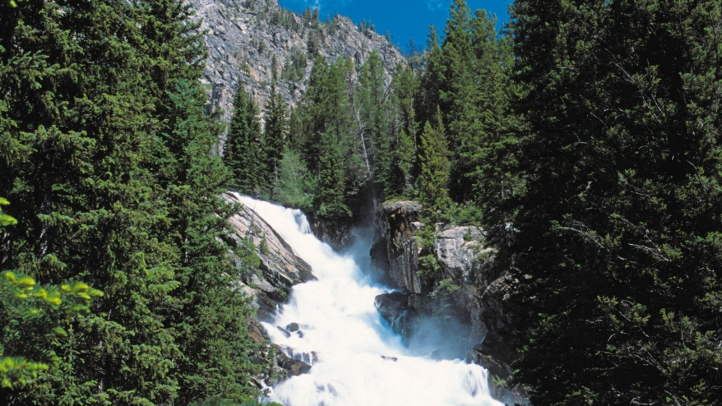 Jackson Hole Waterfall