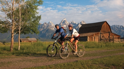 Romantic Mountain Bike Ride at Four Seasons