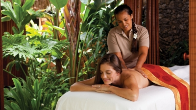 Massage in Hualalai at Four Seasons