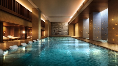 Spa Pool at Four Seasons Hotel Kyoto
