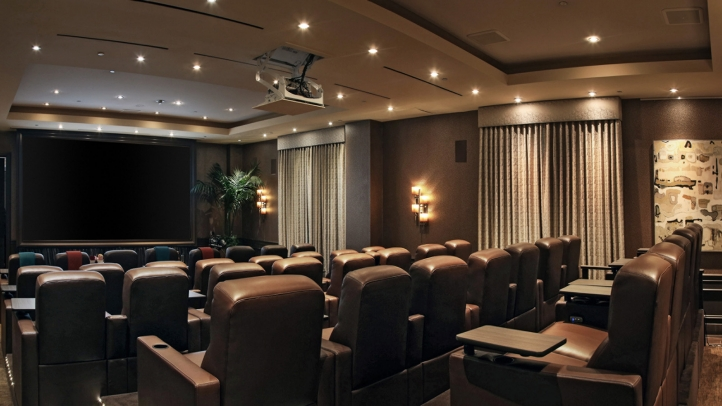 Screening Room at Four Seasons Hotel Los Angeles at Beverly Hills
