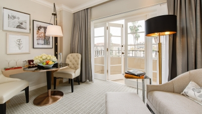 Luxury Hotel Suite in LA at Four Seasons