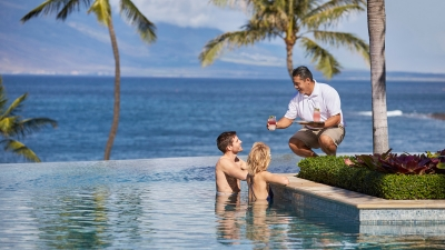 Maui Resort with Pool Bar Service at Four Seasons