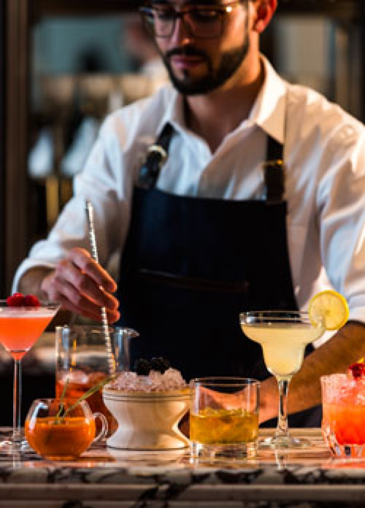 Mexico City Mixologists at Four Seasons
