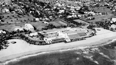 Historical photograph of The Surf Club, Surfside, FL