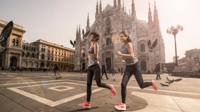 Running in Milano
