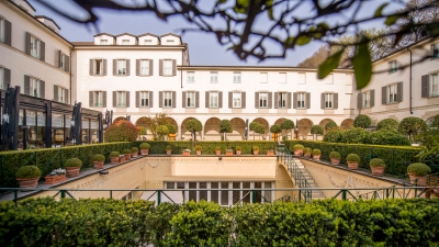 With the arrival of spring four seasons hotel milano reopens its