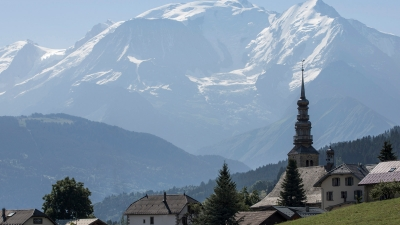 Megeve Mountains at Four Seasons Hotel