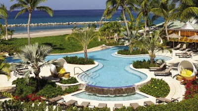 Luxury Nevis Resort Pool at Four Seasons