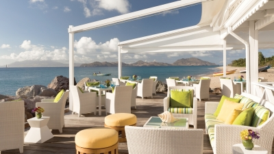 Waterfront Dining at Four Seasons Nevis