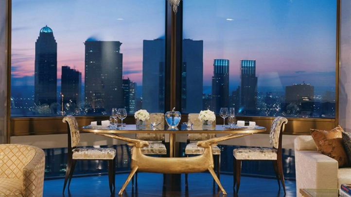 Ty Warner Penthouse with Manhattan view, Four Seasons Hotel New York