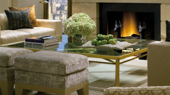 Ty Warner Penthouse Living Area, Four Seasons Hotel New York