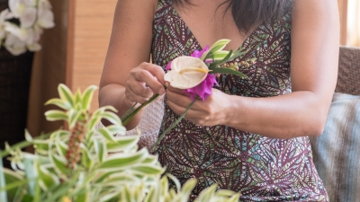 Floral Art at Four Seasons Resort Oahu at Ko Olina