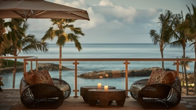 Ocean Front Terrace Four Seasons Resort Oahu at Ko Olina