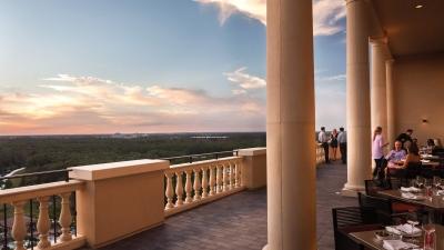 Outdoor Dining At Four Seasons Resort Orlando Walt Disney World