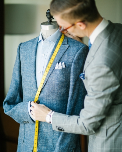 Devan Vincent, Resident Tailor at Four Seasons Silicon Valley