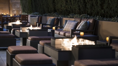 Outdoor Lounge at  Four Seasons Hotel Silicon Valley at East Palo Alto