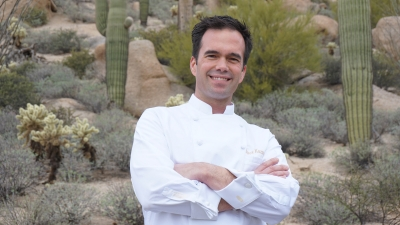 Executive Chef Chuck Kazmer at Four Seasons Resort Scottsdale at Troon North