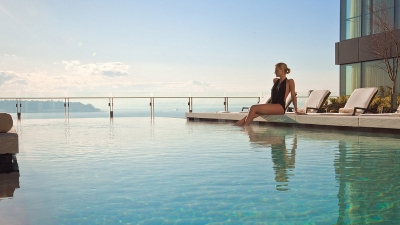 philadelphia hotels, four seasons, infinity pool