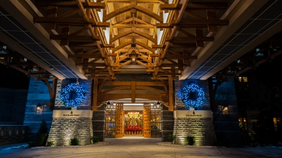 Holiday Decorations at Four Seasons Resort and Residences Whistler