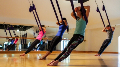 AntiGravity Yoga at Four Seasons