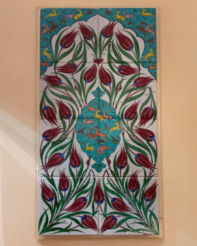 Famous Turkish tile work