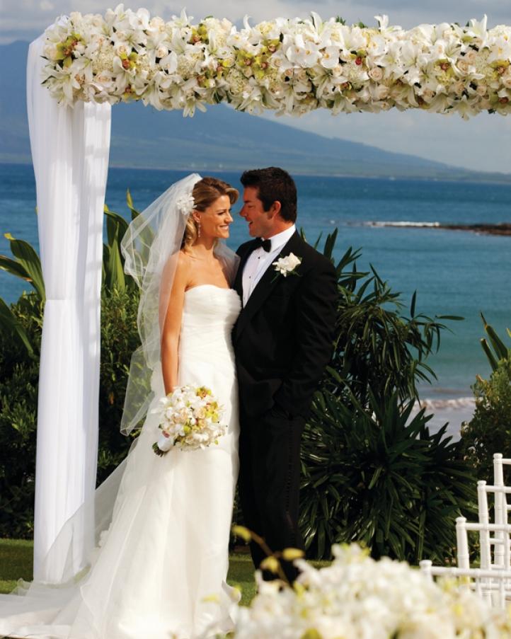 Four Seasons Wedding In Maui