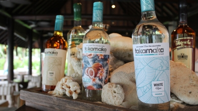 Takamaka rum at Four Seasons Seychelles