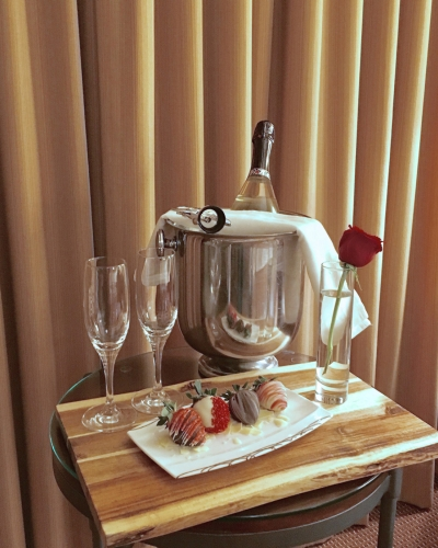Valentine's Day Champagne and Chocolate at Four Seasons Resort Vail