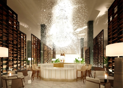 Chandelier Bar Rendering